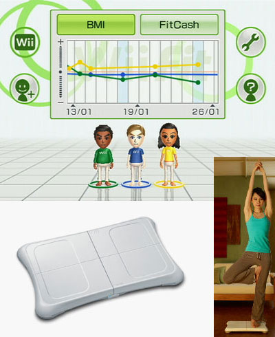 Nintendo Wii Fit screenshot