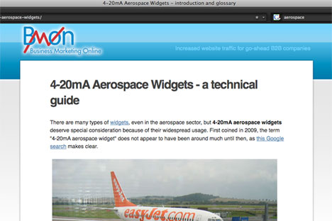 4-20mA Aerospace Widgets - often seen in aircraft, apparently