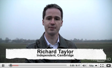 Richard Taylor's views on Cambridge in 2020